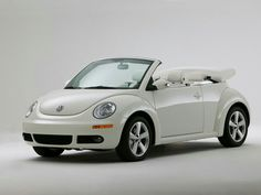 New beetle convertible triple white 2007