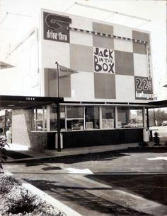 Jake in the Box (El Taco) Florence Ave. and Tweedy Ln by The Downey Historical Conservancy, via Flickr