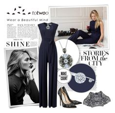 """""""Totwoo smart jewelry - My style"""" by lucile-duplessis ❤ liked on Polyvore featuring Anja, Levi's, Phase Eight, Jimmy Choo, Alexander McQueen and totwoo"""