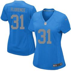 8171544e8 ... Game Jersey Limited Mens Nike Detroit Lions 21 Reggie Bush Light Blue  Team Color NFL Jersey Cheap Elite ...