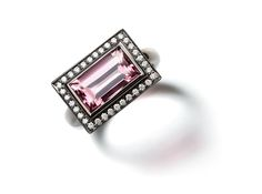 A Tourmaline Cluster Ring
