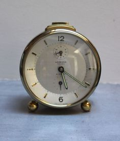 Vintage Junghans alarm clock by SAMANTHATENN on Etsy