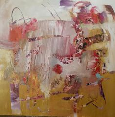 Acrylic On Canvas SOLD 40 by 40 http://lesnewman.tumblr.com/
