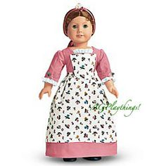 American Girl - Felicity Spring Gown and Pinner Apron