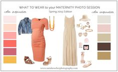 What to Wear Maternity Photo Session Spring 2015
