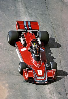 Carlos Pace - Martini/Brabham-Alfa Romeo F1