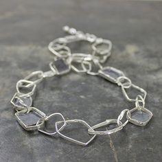 19328 - collier 925 sterling zilver en geoxideerd zilver (Colliers)