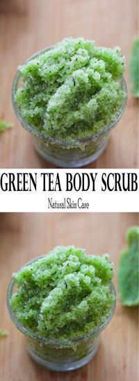 green tea sugar scrub with all the benefits of green tea and only three ingredients. Add essential oils for a nice aromaEasy green tea sugar scrub with all the benefits of green tea and only three ingredients. Add essential oils for a nice aroma Sugar Scrub Recipe, Sugar Scrub Diy, Diy Body Scrub, Diy Scrub, Hand Scrub, Diy Lush, Zucker Schrubben Diy, Diy Cosmetic, Bb Beauty