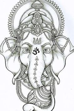 Ganesha Tattoos, Ganesha Tattoo Lotus, Buddha Tattoos, Mandala Tattoo, Lotus Tattoo, Ganesha Tattoo Sleeve, Feather Tattoos, Nature Tattoos, Arm Tattoos