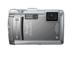 Olympus Tough camera with GPS capabilities. I know I've got a Panasonic pinned in my wish list, too, but I'd probably prefer the Olympus since it's what I'm used to -- and I think I could use the same memory cards.