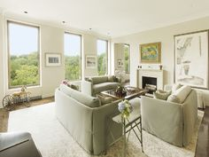 1030 Fifth Avenue Co-op Listed For $16.5 Million - On the Market - Curbed NY - 50 shades of cream