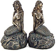 mermaidhomedecor  - Mermaid Bookends $27.99