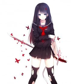 Blood C The Last Dark My history is very similar to saya's in a lot of ways sadly, but that what makes me love her so much. *^*