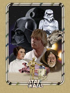 Star Wars: A New Hope - DarklighterDigital.deviantart.com
