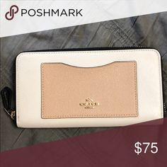 NWOT Coach Wallet Was a gift. Never used. Coach Bags Wallets