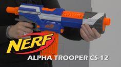 Nerf Alpha Trooper CS-12 - Démo du blaster en français HD FR
