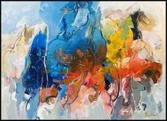 Bernadette Leijdekkers | Dieren Figure Painting, Abstract Art, Horses, Gallery, Fun Stuff, Paintings, Inspiration, Animals, Fun Things