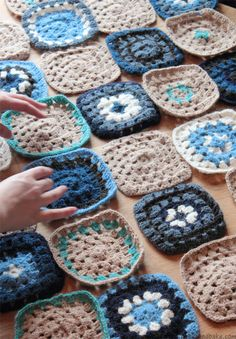 Icelandic Wool Crochet Blanket