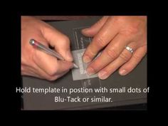 ▶ Parchment Craft PCA - B2056 Bold Mini StampEdges XL Models Demonstration - YouTube