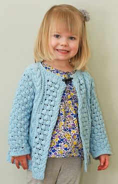 Knitting pattern for Helena Bean Cardigan