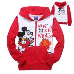 Creative Mickey Mouse Zip Up Hoodie... http://hotzipuphoodies.tumblr.com/ #mickey #mouse #red #white #zip #up #hoodie #hoodies