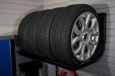 wall storage for tires