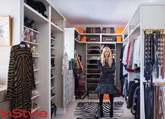 Rachel Zoe's Closet. I love the organization! #celebrityhomes #celebrity #smarthomesforliving
