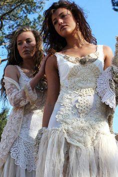 Wedding dresses Bohemian style- awesome!