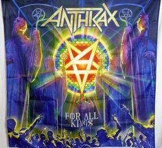 ANTHRAX For All Kings HUGE 4X4 banner poster tapestry cd album | eBay