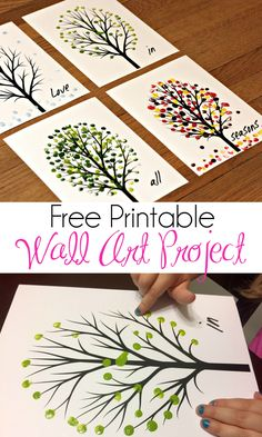 Love in All Seasons Free Printable Art Project - Mom Needs C.- Love in All Seasons Free Printable Art Project – Mom Needs Chocolate Love in All Seasons Free Printable Art Project – Mom Needs Chocolate, - Kids Crafts, Diy Craft Projects, Diy And Crafts, Arts And Crafts, Art Crafts, Craft Ideas, Family Art Projects, Diy Ideas, Summer Art Projects