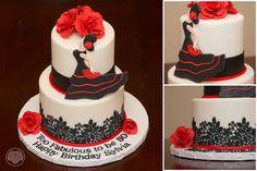 Flamenco cake.