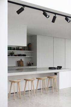 Trendy kitchen lighting australia home Interior Lighting, Home Lighting, Lighting Ideas, Küchen Design, Design Ideas, Design Miami, Design Trends, Interior Design Kitchen, Modern Interior