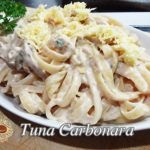 This recipe is an improved version of the simple tuna carbonara recipe. Three additional ingredients I think is what makes this recipe stands from the rest, the Healthy Pasta Sauces, Healthy Pastas, Healthy Recipes, Tuna Recipes, Pasta Recipes, Rice Recipes, Cooking Recipes, Lechon Paksiw Recipe, 100 Calories