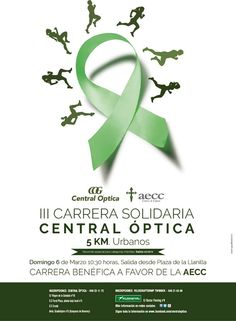 III CARRERA SOLIDARIA DE CENTRAL ÓPTICA GUADALAJARA. Participará La cabeza del rinoceronte como patrocinador.