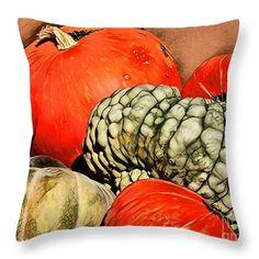 http://fineartamerica.com/products/its-pumpkin-season-marylee-parker-throw-pillow.html #pumpkin # season