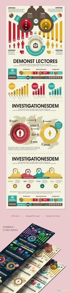 Awesome Infographics PSD Template | ZippyPixels