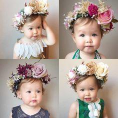 Bebés y flores / Babies and flowers (Foto: Kenzie Jaws)