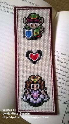 Legend of Zelda bookmark  https://www.etsy.com/uk/listing/203108384