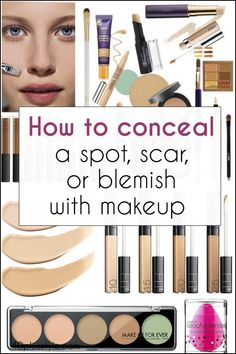 How to conceal a spot, scar or other blemish with makeup: the art of disguise | 40plusstyle.com