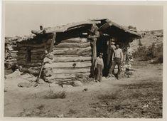 Log cabin | University of Utah Marriott Library | J. Willard Marriott Digital Library Running Photos, University Of Utah, The Hard Way, Photo Archive, Cabin, River, House Styles, Digital, Cabins