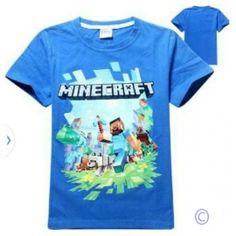Minecraft T-Shirt Blue