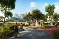 zaha hadid mexico esfera city center monterrey designboom