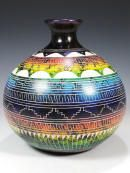 Native American Horsehair Pottery from Hilda Whitegoat, Tom Vail and More