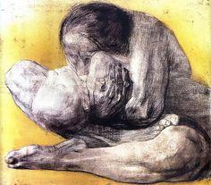 Käthe Kollwitz,Woman with Dead Child, 1903 etching