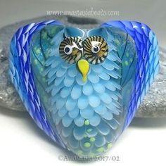 ANASTASIA-handmade-lampwork-bead-1-focal-034-BLUE-OWL-034-SRA http://www.ebay.com/itm/262843332319?ssPageName=STRK:MESELX:IT&_trksid=p3984.m1555.l2649