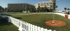 The @westpalmbch waterfront is ready for baseball #ilovewpb
