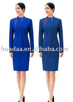 uniforme d'hôtesse de l'air