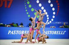 Group Italy, World Championships (Pesaro) 2017 Italy Team, Rhythmic Gymnastics Leotards, Acro, World Championship, My Life, Dance, Sports, Group, Store Design