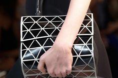 "Pattern looks familiar""  Victoria Beckham Spring Summer 2014 Bags | Popbee"