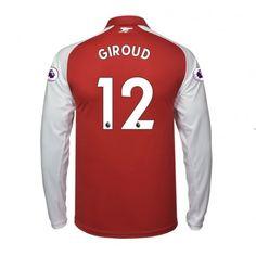Arsenal Olivier Giroud 12 Heimtrikot 17-18 Langarm